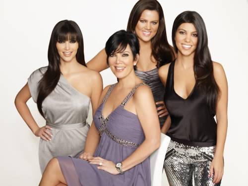 Mamá Kardashian y sus niñas