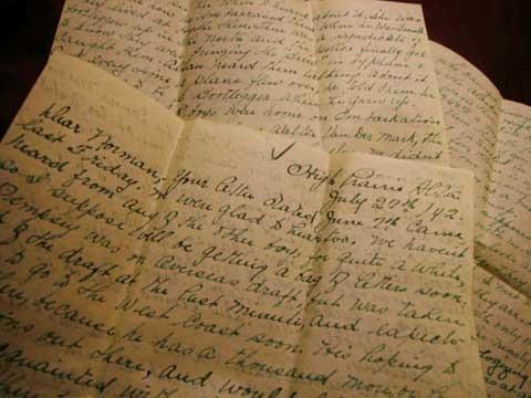 La carta encontrada entre chorizos y morcillas