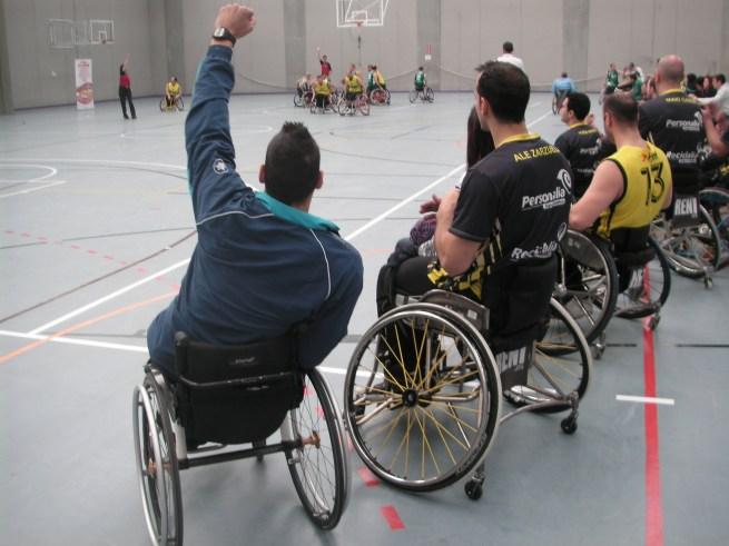 Los hermanos Zarzuela animan a sus compañeros del Fundosa ONCE