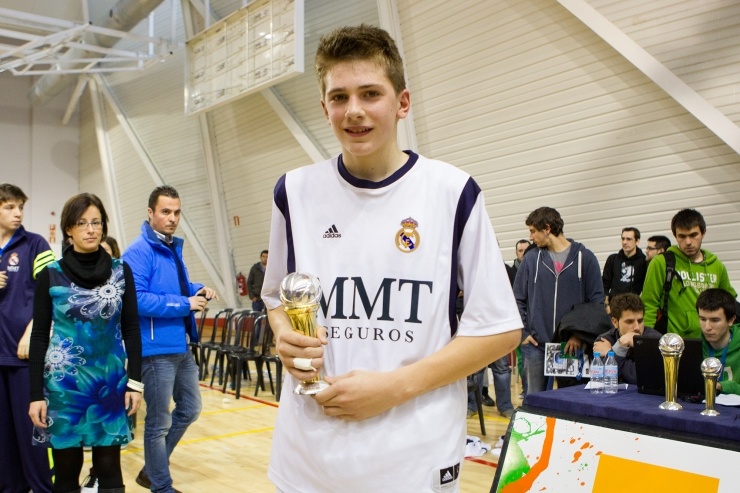 Luka Doncic, MVP de la Minicopa / ACBMedia